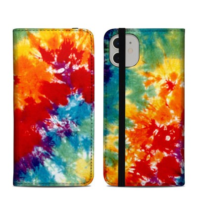 Apple iPhone 11 Folio Case - Tie Dyed