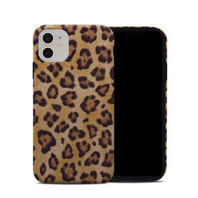 Apple iPhone 11 Hybrid Case - Leopard Spots