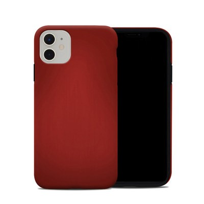 Apple iPhone 11 Hybrid Case - Red Burst