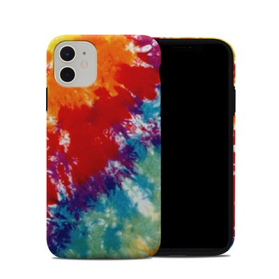 Apple iPhone 11 Hybrid Case - Tie Dyed