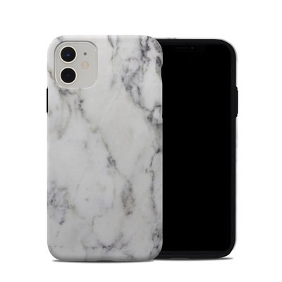 Apple iPhone 11 Hybrid Case - White Marble