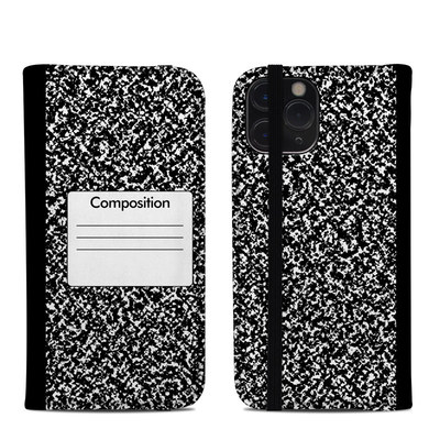 Apple iPhone 11 Pro Folio Case - Composition Notebook