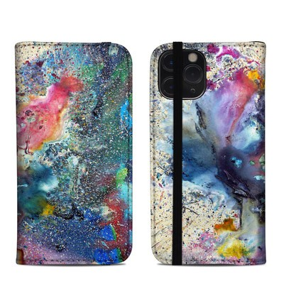 Apple iPhone 11 Pro Folio Case - Cosmic Flower