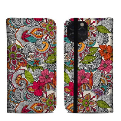 Apple iPhone 11 Pro Folio Case - Doodles Color