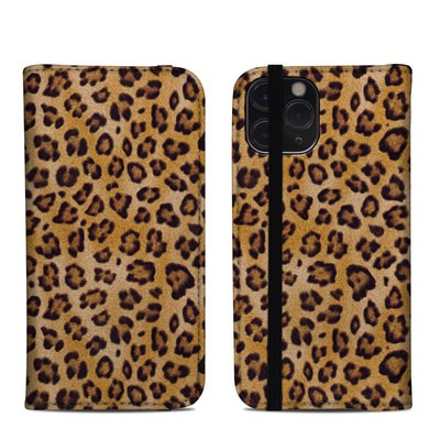 Apple iPhone 11 Pro Folio Case - Leopard Spots