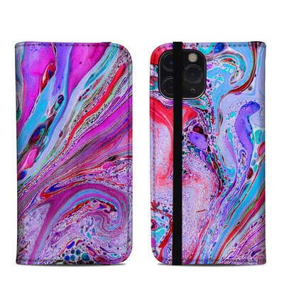Apple iPhone 11 Pro Folio Case - Marbled Lustre