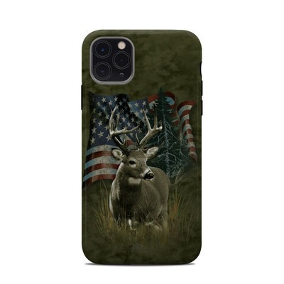 Apple iPhone 11 Pro Max Clip Case - Deer Flag