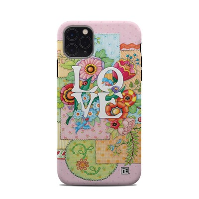 Apple iPhone 11 Pro Max Clip Case - Love And Stitches
