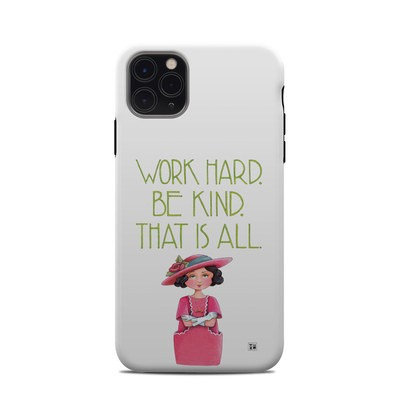 Apple iPhone 11 Pro Max Clip Case - Work Hard