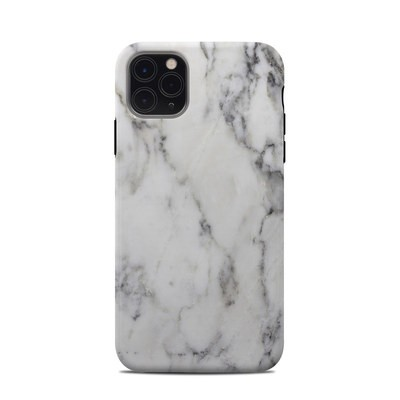 Apple iPhone 11 Pro Max Clip Case - White Marble