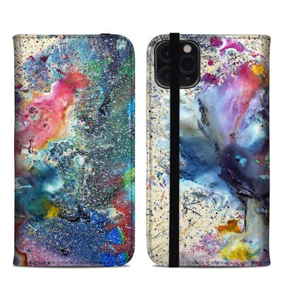 Apple iPhone 11 Pro Max Folio Case - Cosmic Flower