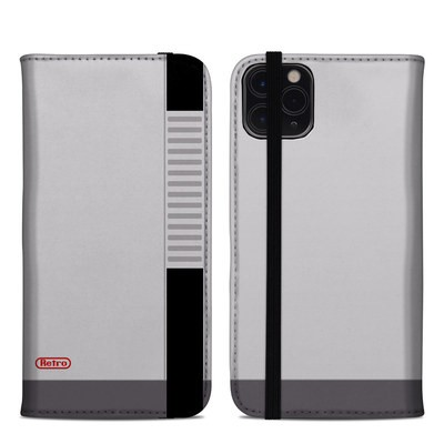 Apple iPhone 11 Pro Max Folio Case - Retro Horizontal