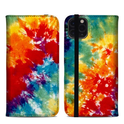 Apple iPhone 11 Pro Max Folio Case - Tie Dyed