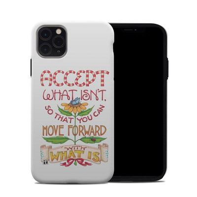 Apple iPhone 11 Pro Max Hybrid Case - Accept What Isn't