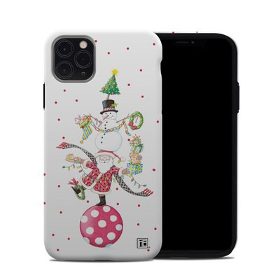 Apple iPhone 11 Pro Max Hybrid Case - Christmas Circus
