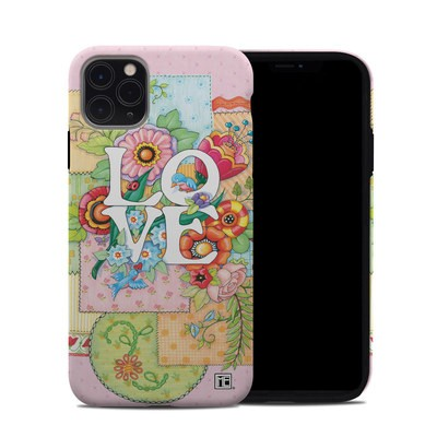 Apple iPhone 11 Pro Max Hybrid Case - Love And Stitches
