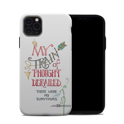 Apple iPhone 11 Pro Max Hybrid Case - Train Derailed