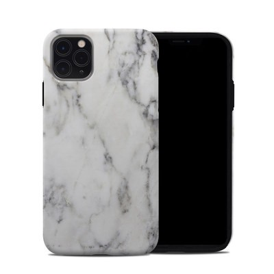 Apple iPhone 11 Pro Max Hybrid Case - White Marble