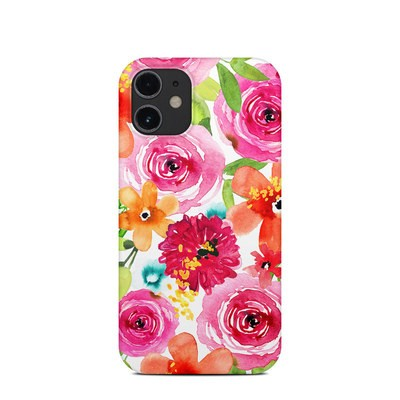 Apple iPhone 12 Mini Clip Case - Floral Pop