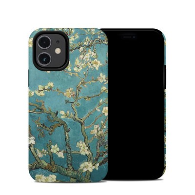 Apple iPhone 12 Mini Hybrid Case - Blossoming Almond Tree