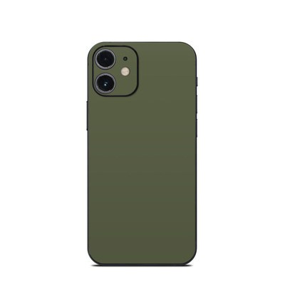 Apple iPhone 12 Mini Skin - Solid State Olive Drab