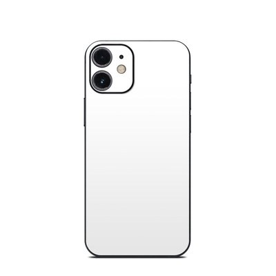 Apple iPhone 12 Mini Skin - Solid State White