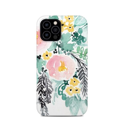 Apple iPhone 12 Pro Clip Case - Blushed Flowers