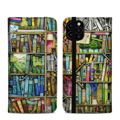 Apple iPhone 12 Pro Folio Case - Bookshelf
