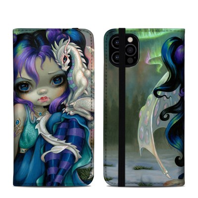 Apple iPhone 12 Pro Folio Case - Frost Dragonling