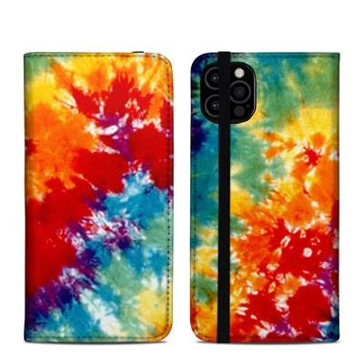Apple iPhone 12 Pro Folio Case - Tie Dyed