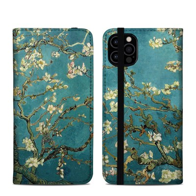 Apple iPhone 12 Pro Folio Case - Blossoming Almond Tree