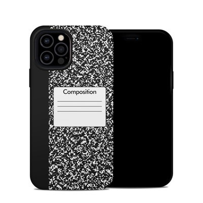 Apple iPhone 12 Pro Hybrid Case - Composition Notebook