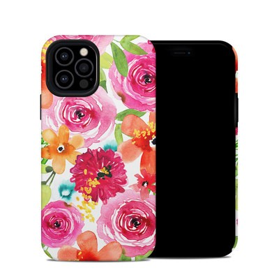 Apple iPhone 12 Pro Hybrid Case - Floral Pop
