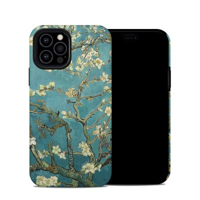 Apple iPhone 12 Pro Hybrid Case - Blossoming Almond Tree