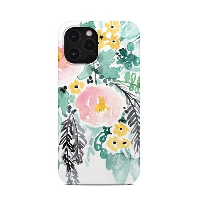 Apple iPhone 12 Pro Max Clip Case - Blushed Flowers