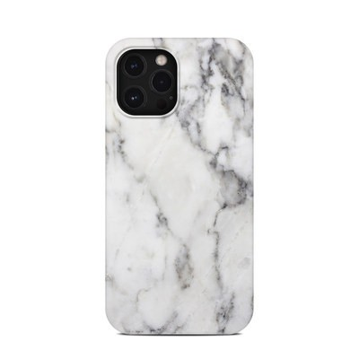Apple iPhone 12 Pro Max Clip Case - White Marble