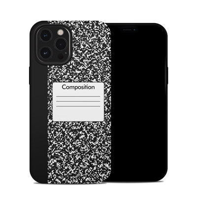 Apple iPhone 12 Pro Max Hybrid Case - Composition Notebook