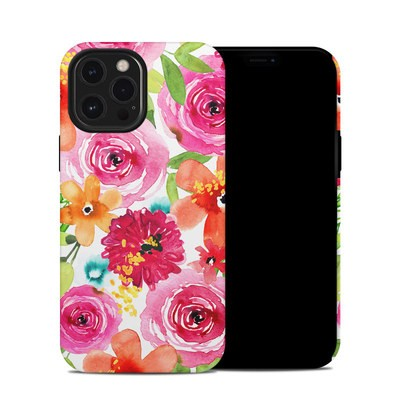 Apple iPhone 12 Pro Max Hybrid Case - Floral Pop
