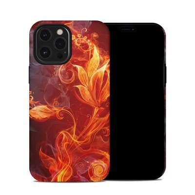Apple iPhone 12 Pro Max Hybrid Case - Flower Of Fire