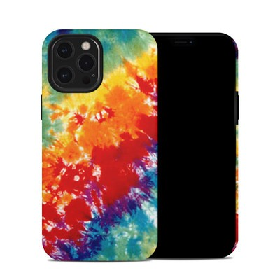 Apple iPhone 12 Pro Max Hybrid Case - Tie Dyed