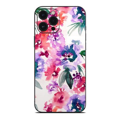 Apple iPhone 12 Pro Max Skin - Blurred Flowers