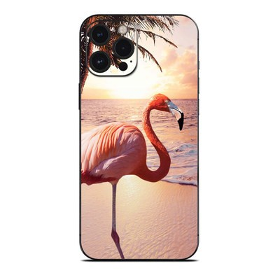 Apple iPhone 12 Pro Max Skin - Flamingo Palm