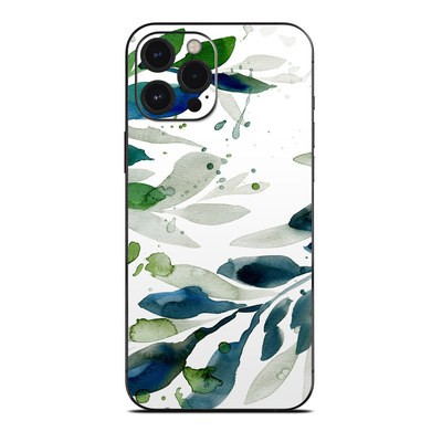 Apple iPhone 12 Pro Max Skin - Floating Leaves