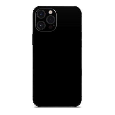 Apple iPhone 12 Pro Max Skin - Solid State Black