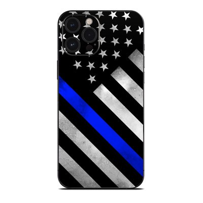 Apple iPhone 12 Pro Max Skin - Thin Blue Line Hero