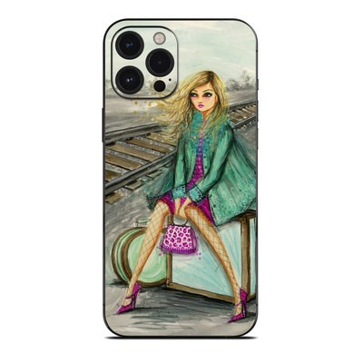 Apple iPhone 12 Pro Max Skin - Lulu Waiting by the Train Tracks