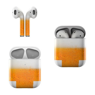 Apple AirPods Skin - Beer Bubbles