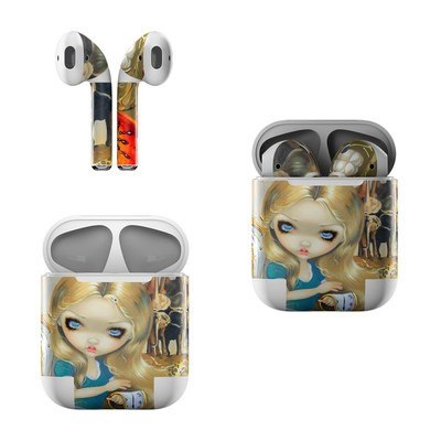 Apple Air Pods Skin - Alice in a Dali Dream