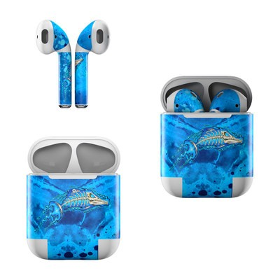 Apple AirPods Skin - Barracuda Bones