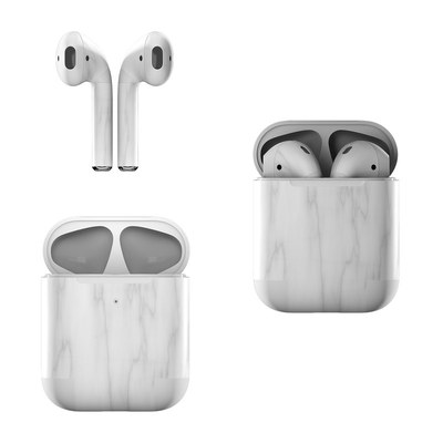 Apple AirPods Skin - Bianco Marble